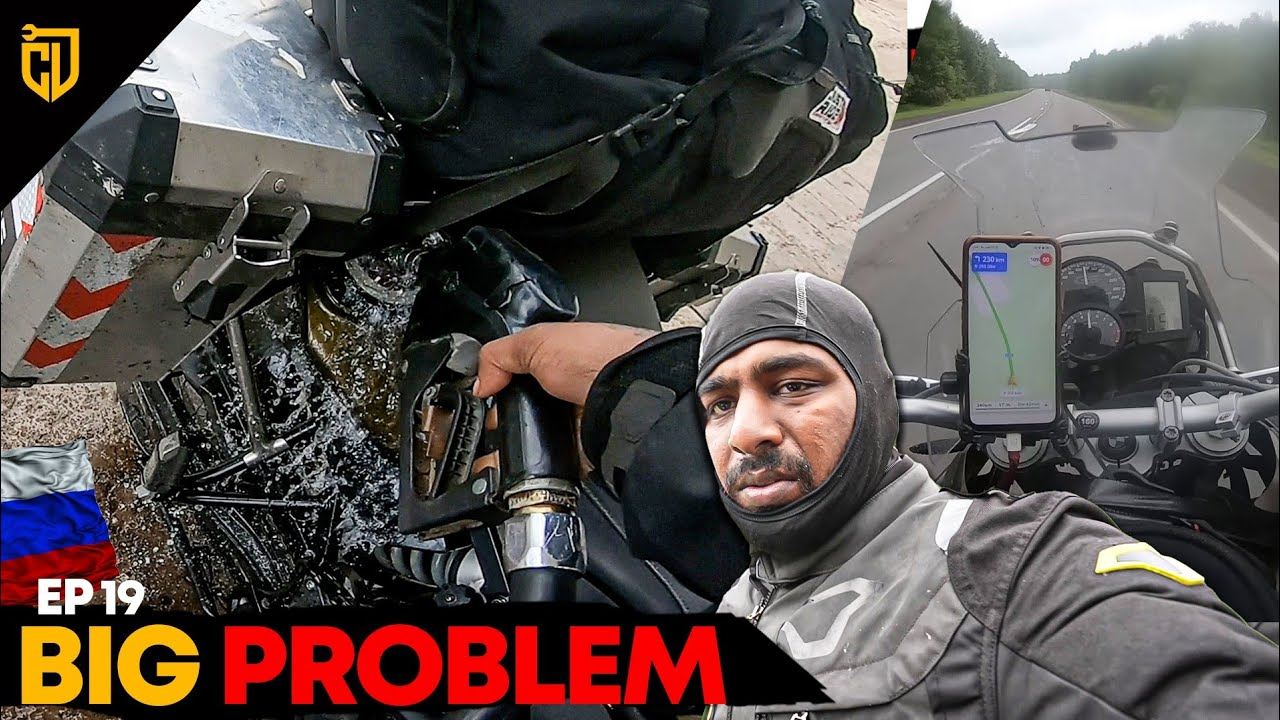 FUEL மொத்தம் போச்சே 😣 Angry Fuel Station 😡 | Russia Series | Ep 19 | Cherry Vlogs