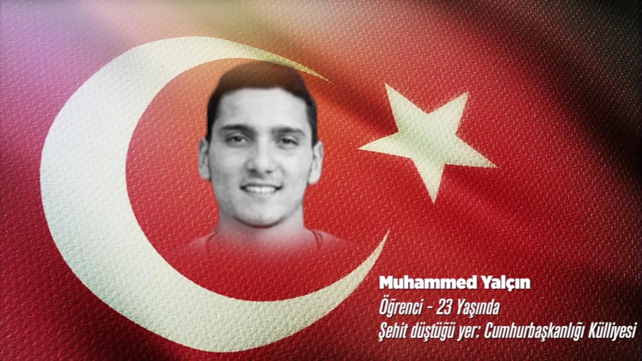 15 Temmuz Şehidi Muhammed Yalçın