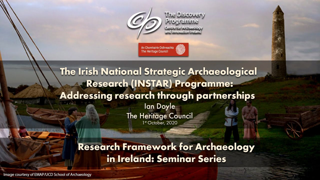 Irish National Strategic Archaeological Research Programme: Addressing research through partnerships