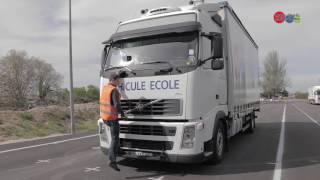 Permis C-Porteur, Vérification véhicule sur Volvo FH 13