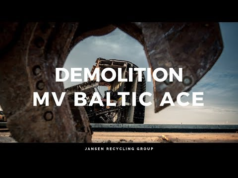 Wreck removal Baltic Ace – Jansen Recycling Group