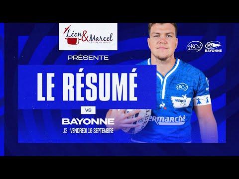 Download J3 : RCV - Bayonne 18-26   le résumé du match 🎥