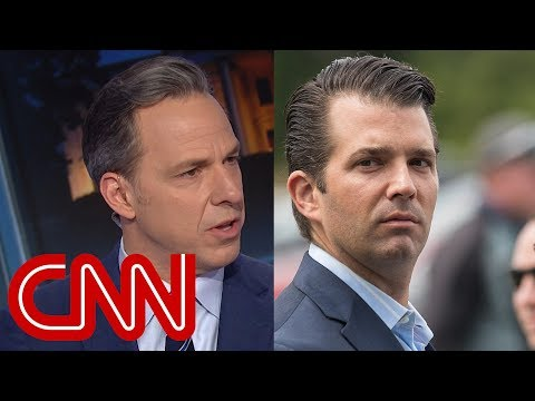 Jake Tapper Calls Out Donald Trump Jr.'s 'Blatant Racism'