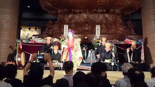琉球伝統舞踊・沖縄平和祈念堂・沖縄全戦没者追悼式前夜祭