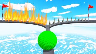 Can You DECIDE Which WAY To Go?! (Golf It)