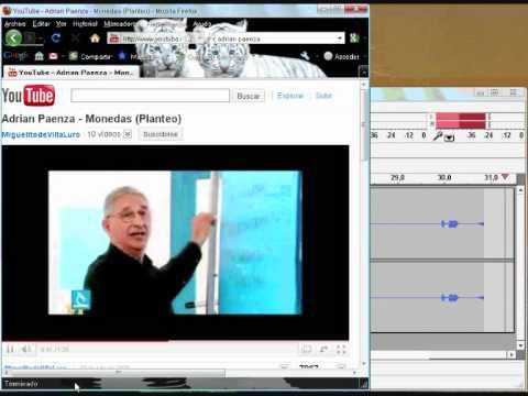 Audacity: grabar sonidos desde Internet
