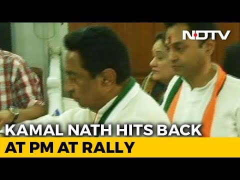 Kamal Nath, Son Nakul File Nomination In The Backdrop Of Income Tax Raids