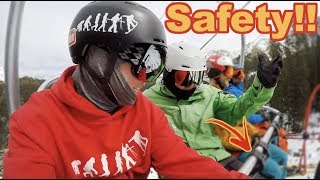 Ryan Knapton Called Me Out For Not Being SAFE!! - Arapahoe Basin Colorado - (Season 3, Day 6) #snow