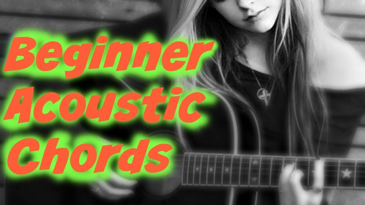 Beautiful Acoustic Chords No Bar Chords 80s Rhythm Youtube