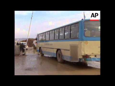 BOSNIA: SARAJEVO: BLUE ROUTE ROAD REOPENS