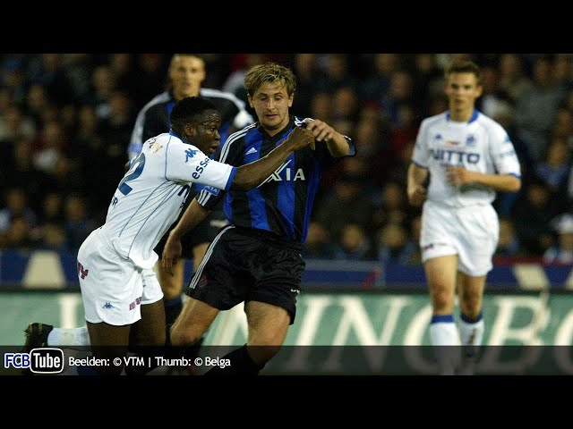 2002-2003 - Jupiler Pro League - 29. Racing Genk - Club Brugge 0-3