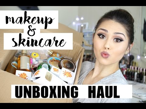The Body Shop Haul | HUGE UNBOXNG | Makeup, Skincare, & Cosmetics! | Roxette Arisa