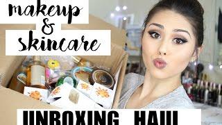 The Body Shop Haul | HUGE UNBOXNG | Makeup, Skincare, & Cosmetics! | Roxette Arisa