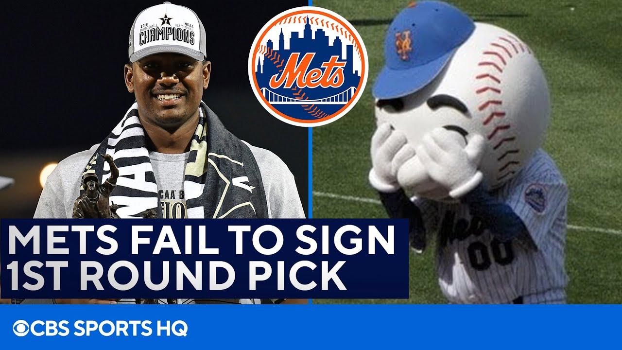 Why didn't the New York Mets sign Kumar Rocker?