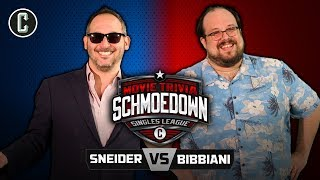 Jeff Sneider VS William Bibbiani - Movie Trivia Schmoedown
