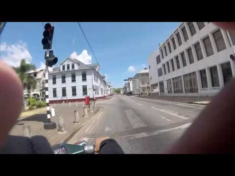 The Streets of Suriname: Stopped at the Largest Wooden Cathedral in the world