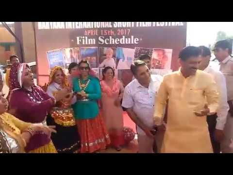Folk Haryana and Haryana Minister Sh Krishan bedi HIFF 2017