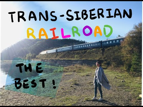 2017Trans Siberian Railway (Beijing to Moscow by private train )西伯利亞鐵路之旅 完整記錄#VLOG [Eng Sub]