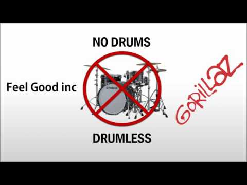 Gorillaz - Feel good inc [Drumless track]