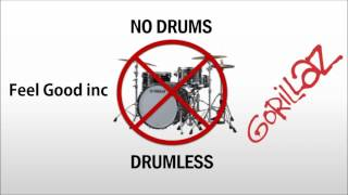 Gorillaz - Feel good inc [Drumless track]
