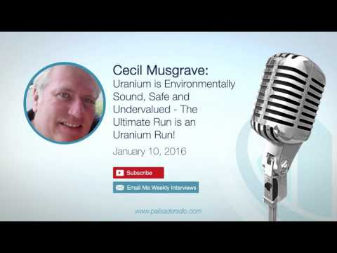 Cecil Musgrave: The Ultimate Run is an Uranium Run!