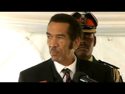 A lighter side of Botswana's Ian Khama