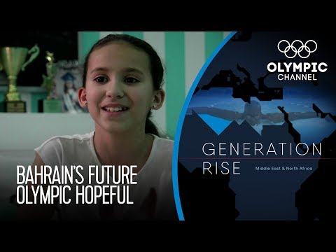 Alzain Tareq Olympic Swimming Dream Drives Bahrain Schoolgirl | Generation Rise