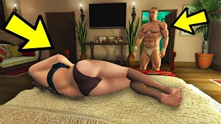 CAN MICHAEL FIND AMANDA IN BED WITH THE TENNIS COACH? (GTA 5)
