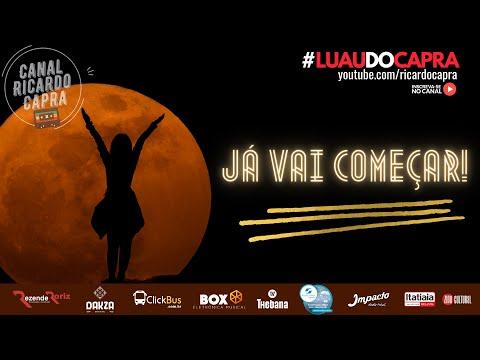 #LUAUDOCAPRA     NESTE SÁBADO     01 MAIO 2021    17H - Participação Especial: BERTRAND