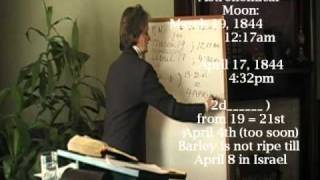 Video 15 - October 22, 1844 - US Naval Observatory Data - Standing on Trial - Series 1 Part 3D