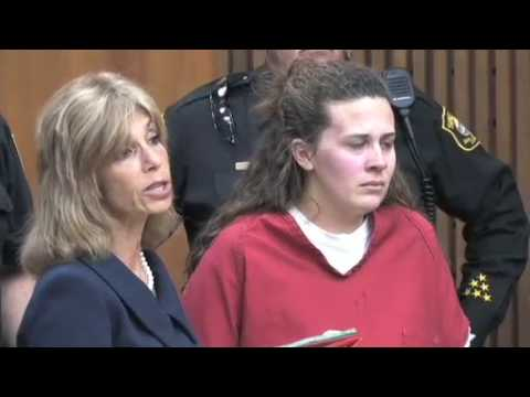 Raw footage: Melissa Huckaby arraignment