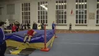 Чемпионат МГУ 2014 по легкой атлетике.  День 1.  Мужчины-прыжки в высоту