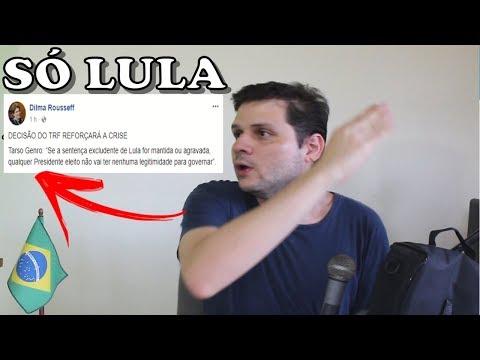 Só Lula será presidente legítimo em 2018 e ponto final!