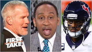 Stephen A. Calls Brett Favre's Comments On Deshaun Watson 'mind-boggling' | First Take