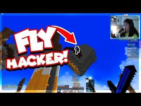 """""""FLY HACKER!"""" Hypixel Skywars! [180]"""