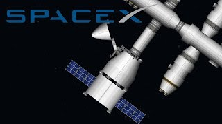 SpaceX Dragon Capsule | Spaceflight Simulator 1.35