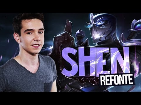 REWORK SHEN PBE : Gameplay Top League of Legends