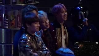 BTS reaction to Wiz Khalifa - See You Again in MAMA 2016