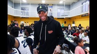 GRATEFUL FOR LOWRY: Foundation Feeds 250 Families In Need