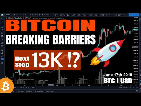 Bitcoin 13K Incoming?   Not Enough Bitcoin For Millionaires!! – BTC Price Analysis June 17th 2019