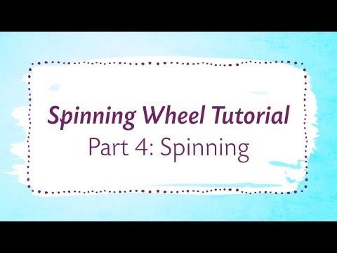 Spinning Wheel Tutorial Part 4: Spinning