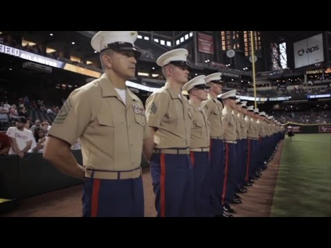 Marine Night At Chase Field