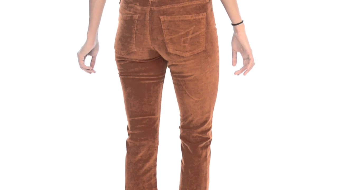 JAG Trudie Slim Boot Corduroy Pants - Low Rise (For Women) - YouTube