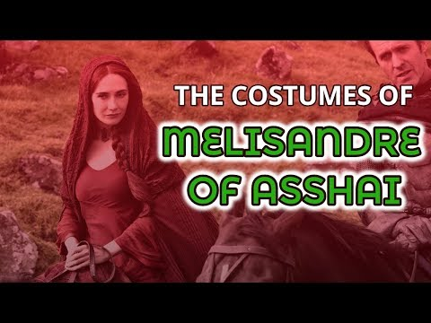 The Costumes Of Melisandre Season 2-6 (Game of Thrones #6)