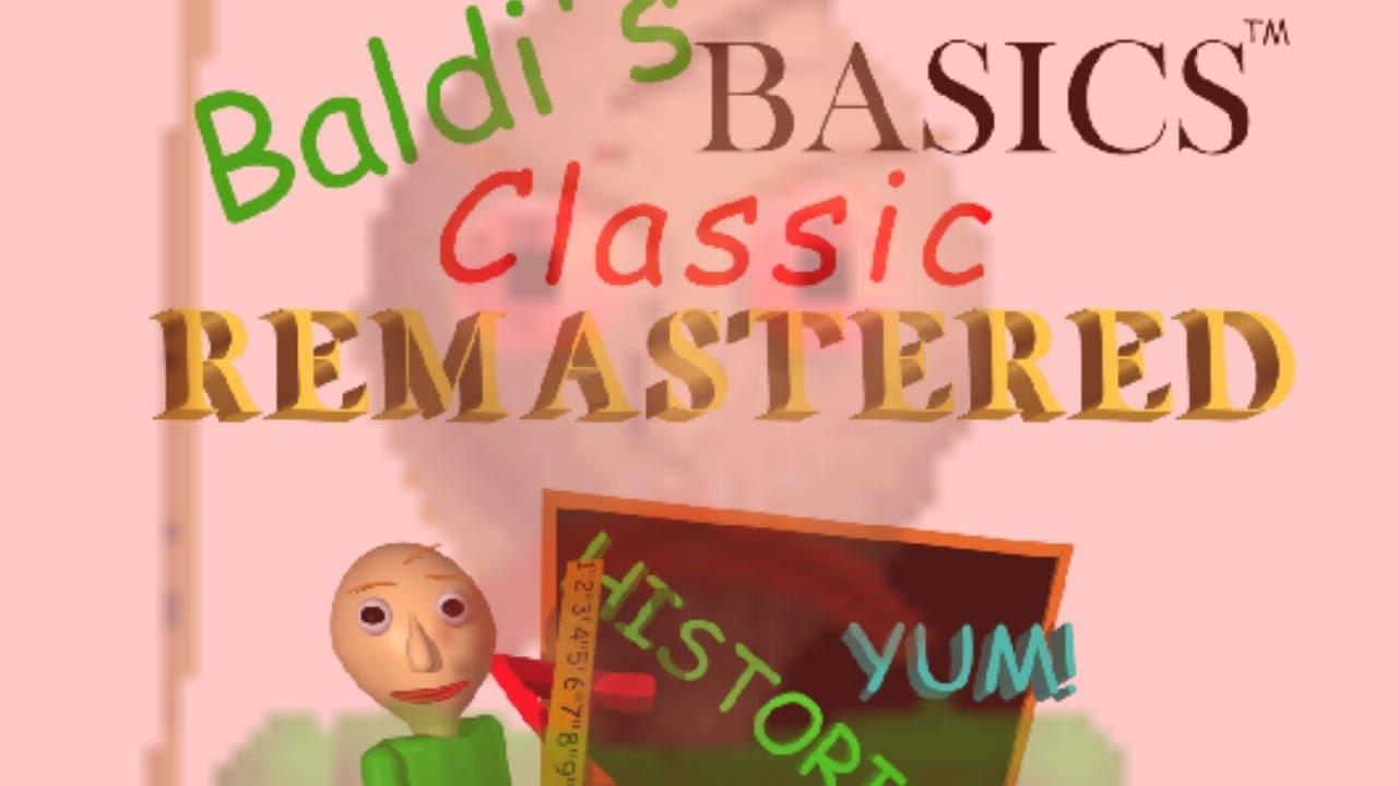 BALDI TRIES TO VOICE CAST BALDI'S BASICS CLASSIC REMASTERED