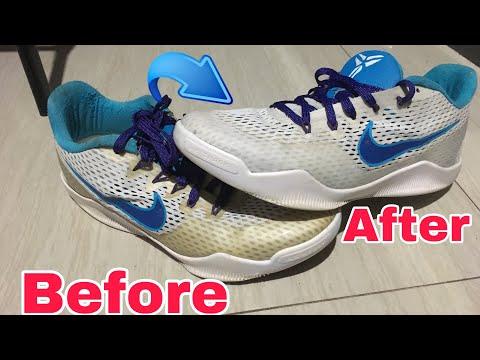 Ukay Shoes Restoration | Paano mag restore ng sapatos | Nike kobe 11 restoration