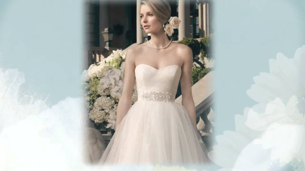 Wedding Dresses For Beautiful Brides - YouTube