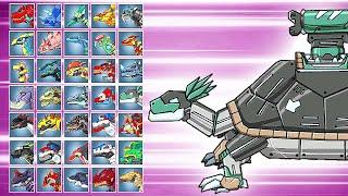 Dino Robot Battle Arena: Proganochelys (Assembly + Fights) | Eftsei Gaming