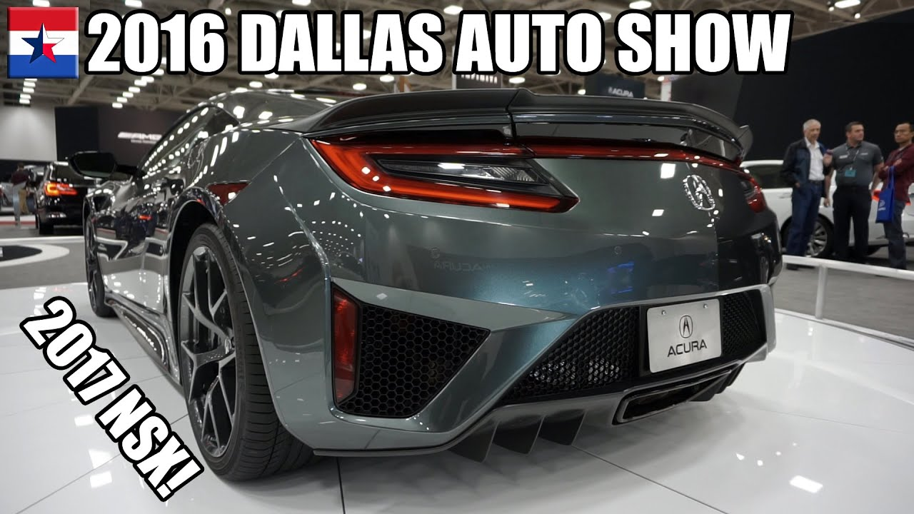 2016 dallas auto show youtube. Black Bedroom Furniture Sets. Home Design Ideas