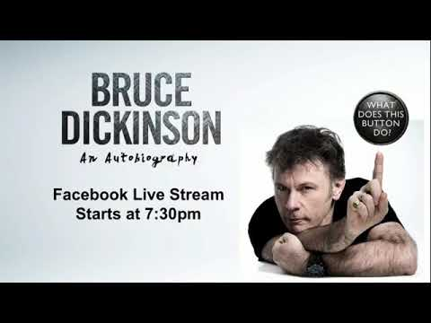 What does this button do? A conversation with Bruce Dickinson. FULL LIVESTREAM